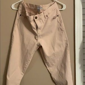 New York & Company Pink Jeans